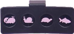 """Накладка к дуге офтальмологического периметрического мускулотренера """"САККАДА"""" с фигурами животного мира - 2"""